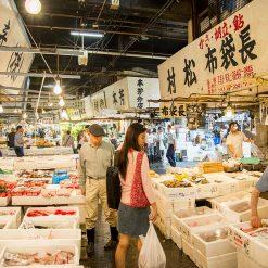 Le marché de Tsukiji
